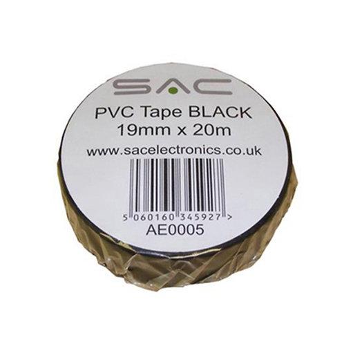 PVC Tape Black 19mm * 20m