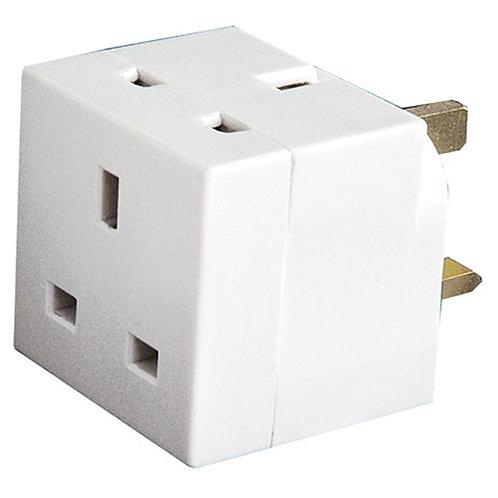 2 way plug adaptor