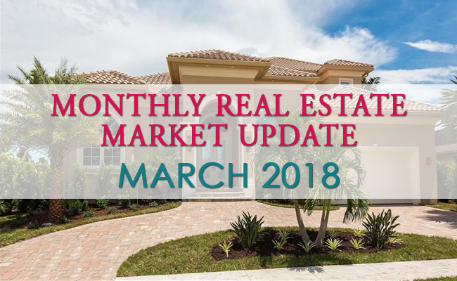 Monthly Tampa Bay Real Estate Market Update - March 2018