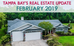 Tampa Bay's Monthly Real Estate Market Update - February 2019