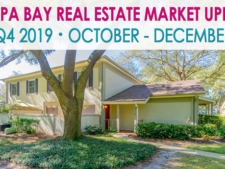 Tampa Bay's Quarterly Real Estate Market Update - Q4 2019