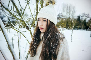 Izzy hat and snow.jpg