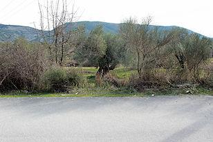 Blickauf das Grundstück von Faskomilia