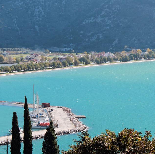 der Hafen von Plataria