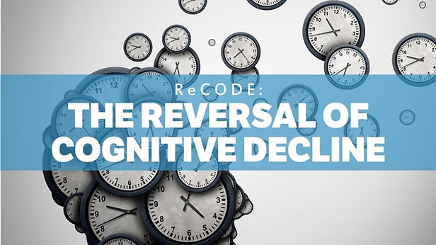 ReCODE: The Reversal of Cognitive Decline