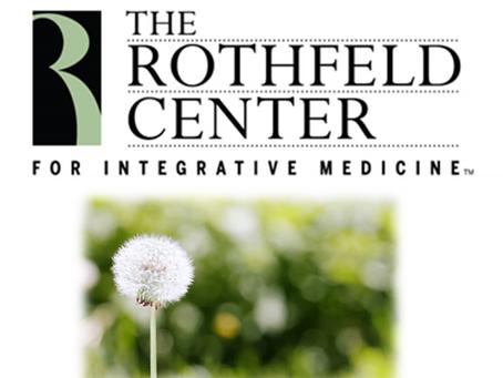 ALLERGY TESTING! : The Rothfeld Center Newsletter