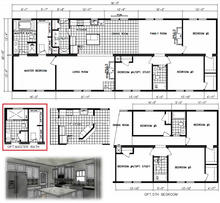 Castle Pines Floor Plan with Optional Ma