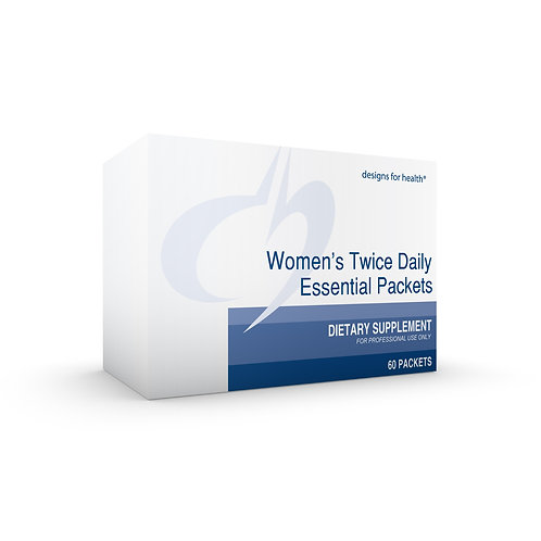 DFH - Women's Twice Daily Essential Packets w/o Iron 60