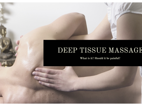 What is a Deep Tissue Massage?