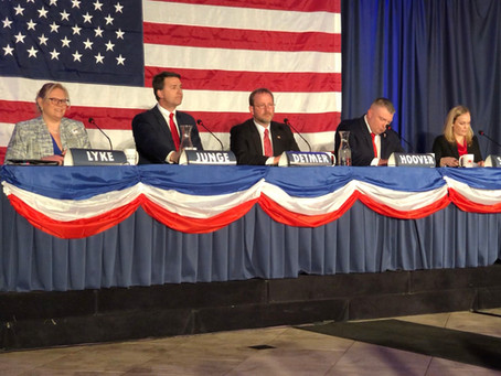 WHMI: Candidates Face Off In Forum For 8th District GOP Nomination