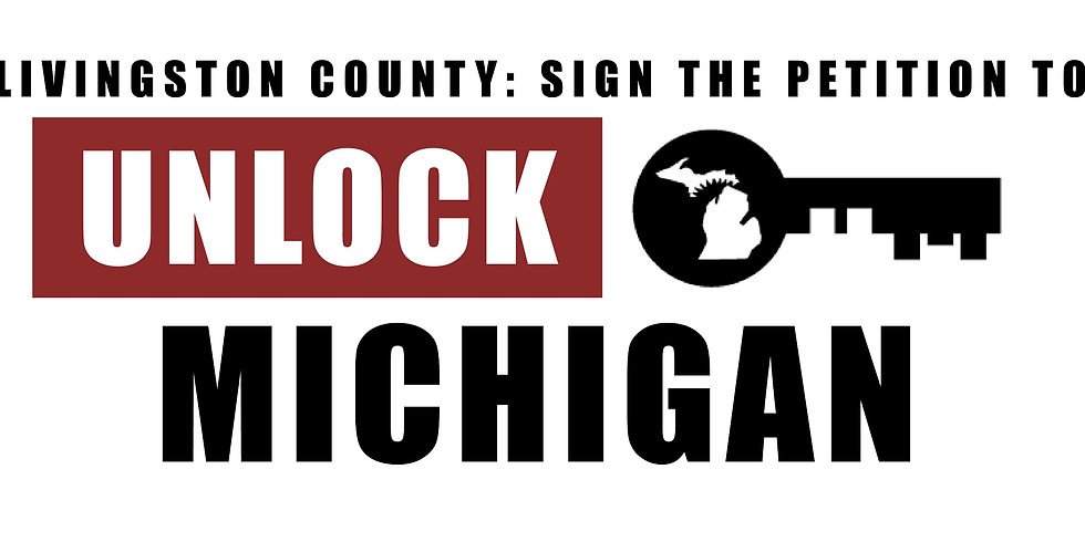 Unlock Michigan Petition Signing Event: Howell
