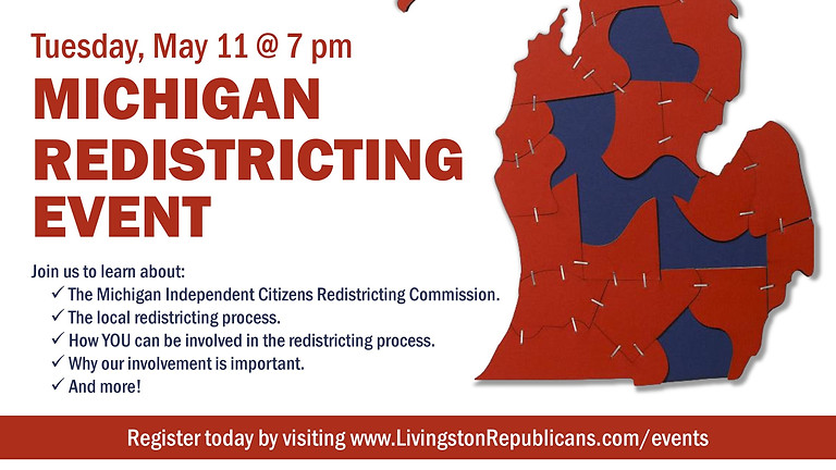Redistricting Michigan: Livingston County Training Session