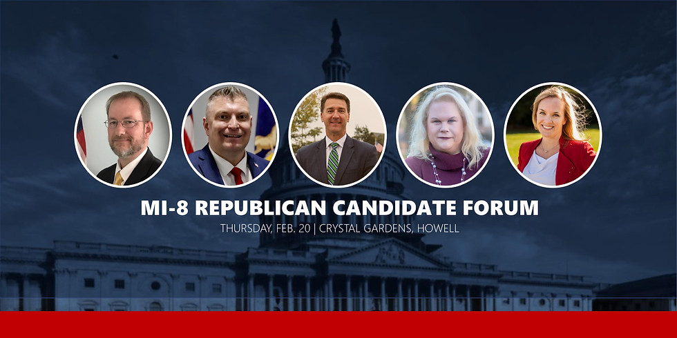 Candidate Forum: MI-8 Congressional Republican Primary