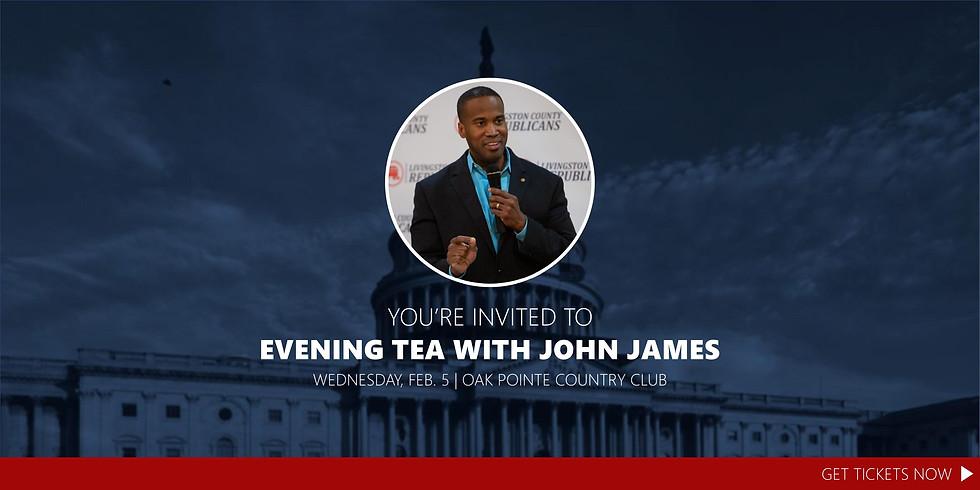 An Evening Tea with John James