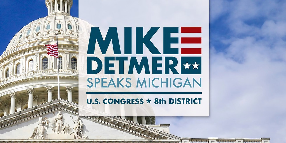 Mike Detmer for Congress: An afternoon with Christian Radio Host Bob Dutko