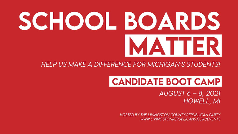 Running for School Board: Candidate Boot Camp