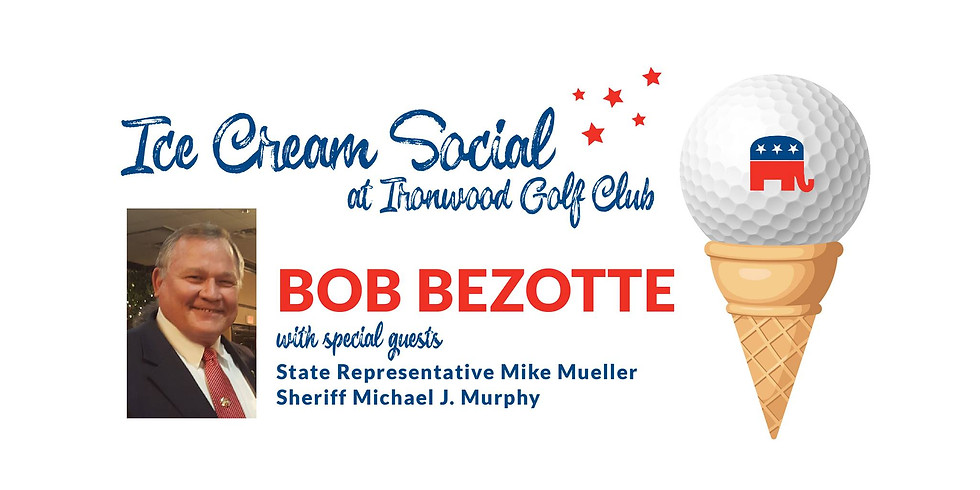 Ice Cream Social at Ironwood Golf Club with Special Guest Bob Bezotte