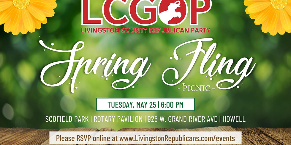 Livingston County Republican Party's Spring Fling Picnic