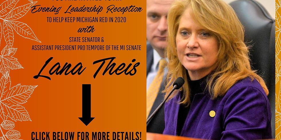 An Evening Leadership Reception with Senator Lana Theis