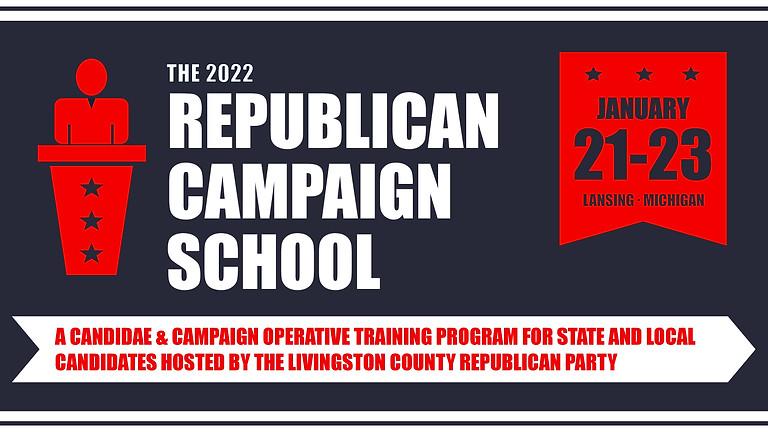 January 2022 Republican Campaign School