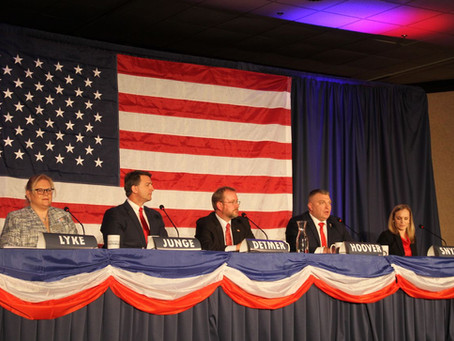 MLIVE: Five Michigan Republicans jockey to take on Slotkin at pro-Trump candidate forum