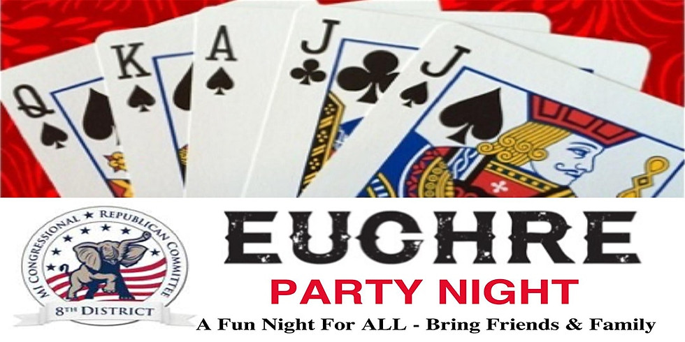 MIGOP 8th District Meeting and Euchre Party Night