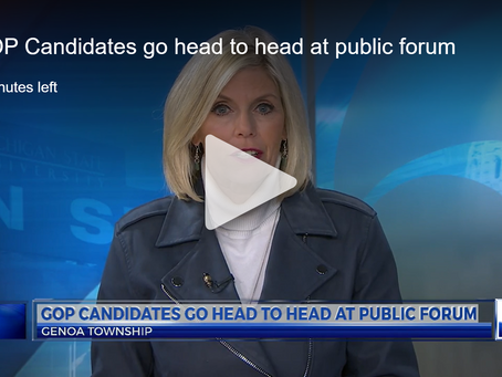 WLNS: 8th District GOP Candidates go head to head at public forum