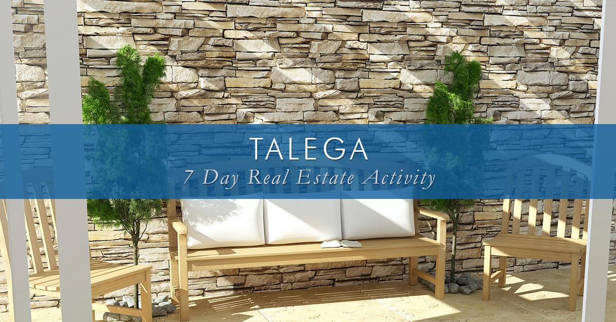 7 Day Activity ~ Talega