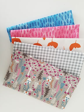 """Timeless Treasures """"Forest Frolic"""" and Windham Half-Yard Bundle (5 pieces)"""