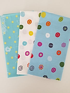 "Moda Fabrics ""Hey Dot"" Half-Yard Bundle (3 pieces)"
