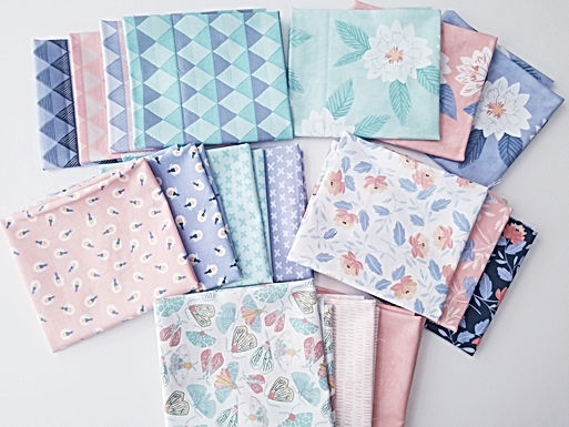 "Moda Fabrics ""Twilight"" Fat Quarter Bundle (17 pieces)"