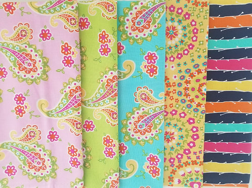 Michael Miller Fat Quarter Bundle (five pieces)