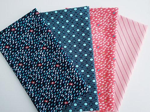 """Moda Fabrics """"Coledale"""" Half-Yard Bundle (4 pieces)"""