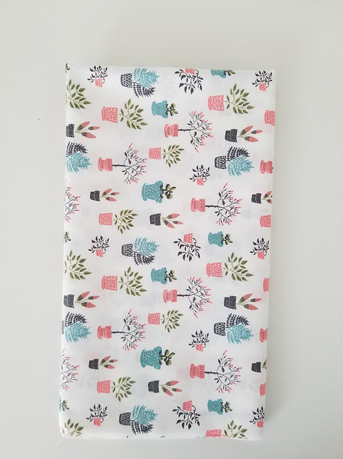 Dear Stella Potted Plants Fabric by the yard