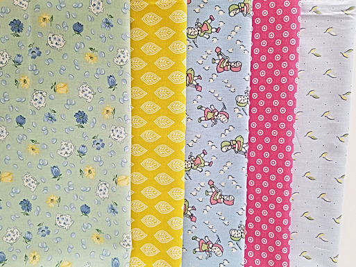 Gardening and Flowers Fat Quarter Bundle (five pieces)