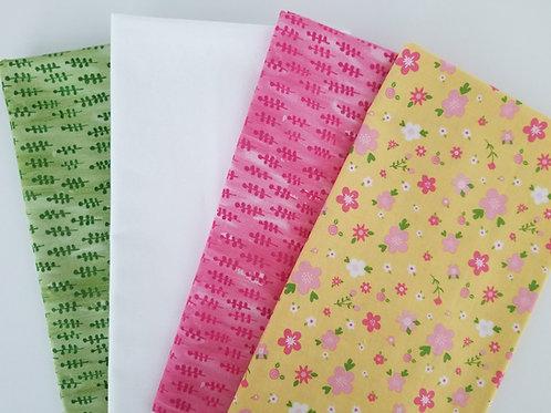 Riley Blake and Windham Fabrics Half-Yard Bundle (four pieces)
