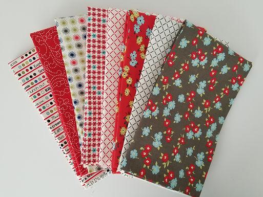 "Moda Fabrics ""Sunday Drive"" Yard Bundle (8 pieces)"