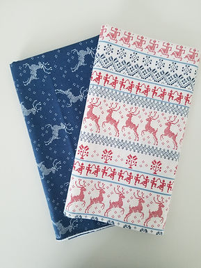 "Moda Fabrics ""Nordic Stitches"" Yard Bundle (2 pieces)"