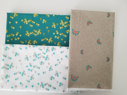 "Moda ""Woodland Secrets"" Half-Yard Bundle (3 pieces)"