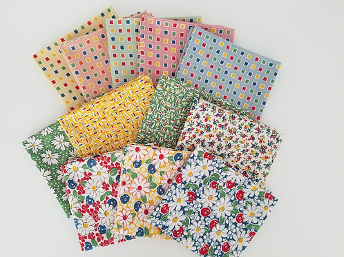 "Moda Fabrics ""Play All Day"" Fat Quarter Bundle (12 pieces)"