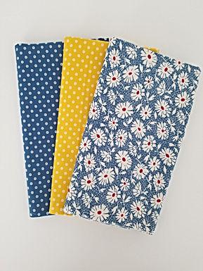 "Moda Fabrics ""Hop, Skip, and a Jump"" Yard Bundle (3 pieces)"