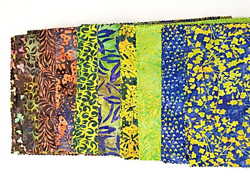 "Batiks 10"" Square Pack - Assorted"