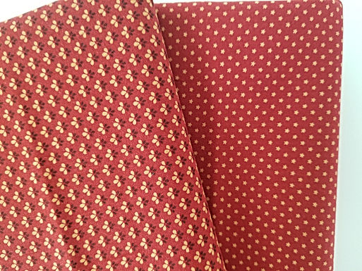 "Moda Fabrics ""Petite Prints"" Yard Bundle (2 pieces)"