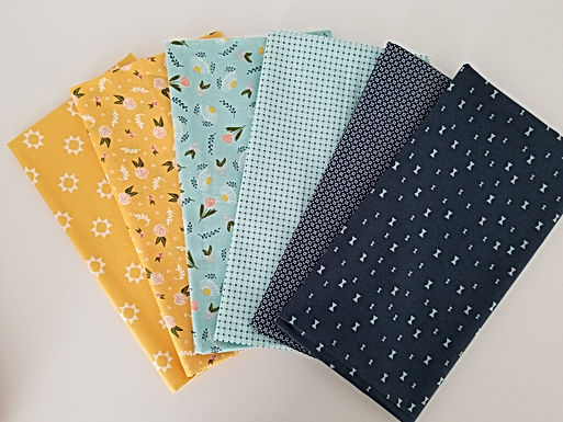 "Moda Fabrics ""Clover Hollow"" Half-Yard Bundle (6 pieces)"