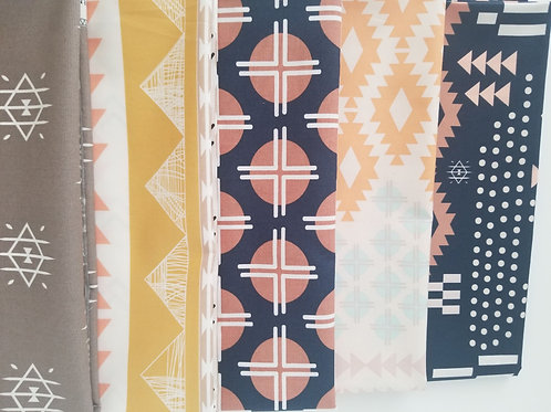 "Art Gallery Fabrics ""Arizona"" Yard Bundle (five pieces)"