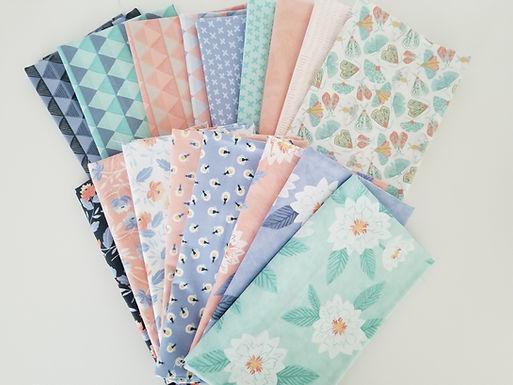 "Moda Fabrics ""Twilight"" Half-Yard Bundle (17 pieces)"