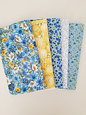 "Moda Fabrics ""Summer Breeze IV"" Half-Yard Bundle (5 pieces)"
