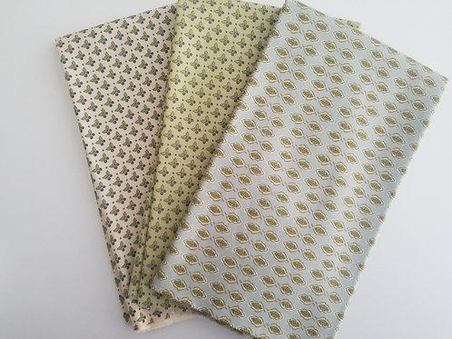 "Moda Fabrics ""Garden Notes"" Yard Bundle (3 pieces)"