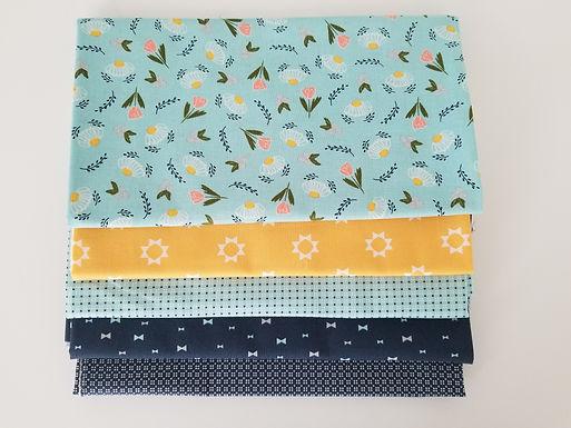 "Moda Fabrics ""Clover Hollow"" Half-Yard Bundle (5 pieces)"
