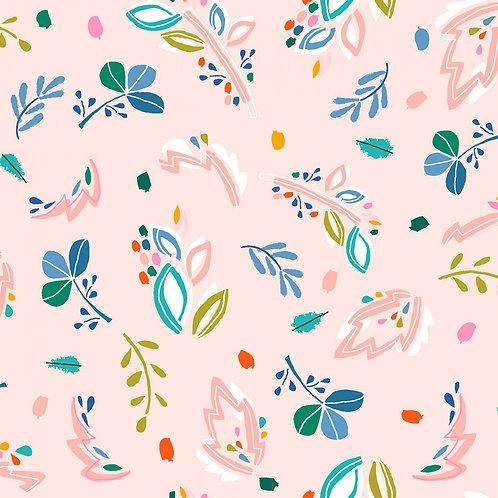 "Dear Stella ""Flockstar"" Blush Abstract Floral"